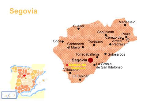 Pueblos De Segovia Mapa.Cobos De Segovia Pueblo Segoviano Con Historia Y Caracter